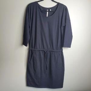 Babaton Black Wool Dress Size Medium